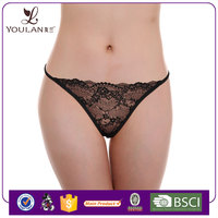New Design High Quality Transparent Lace Sexy Women G-String