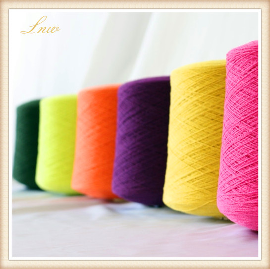 Knitting 100% Wool Yarn For Stock