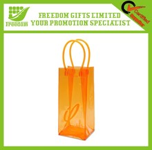Customized Color Promotional PVC Wine Carry Bag