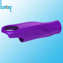 Skidproof silicone rubber handle cover sleeve