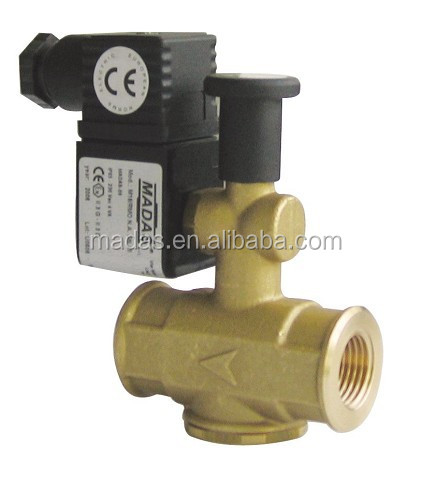 Normally Open Type of Household Stainless Steel Solenoid Valve