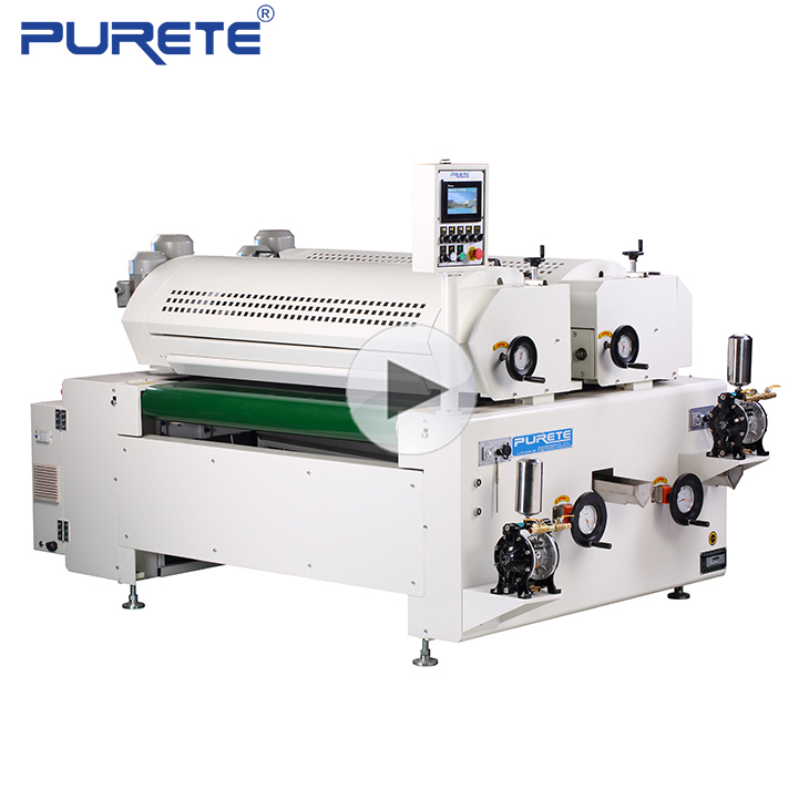 Digital Glass UV Roller Painting, Coating Machine