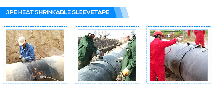 Heat Shrinkable Tape for Closure Welding