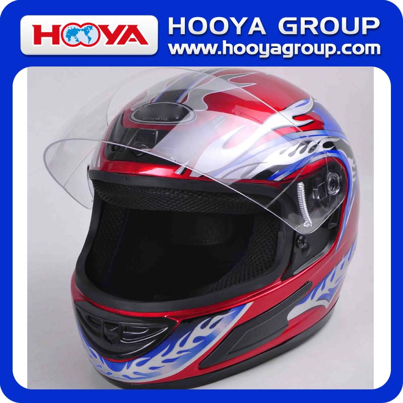 Safety Full Face PP Motorcycle Helmet