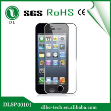 Japanese imported material 9H hardness scratch-proof tempered glass guard membrane for iphone 4 4s toughened glass film