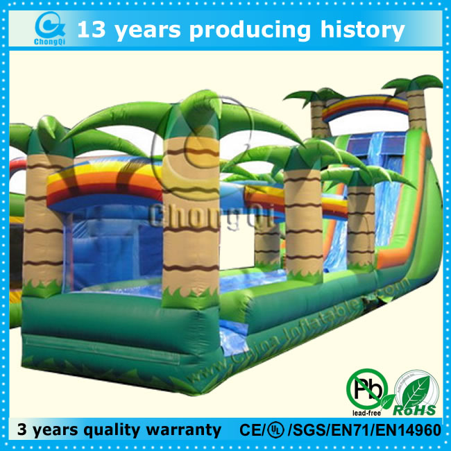 new inflatable bounce house with slides