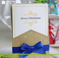 Nice designed coated paper greeting card for birthday
