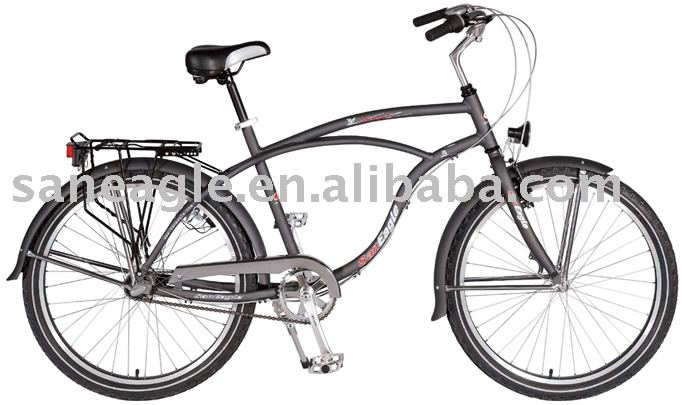 26 aluminum beach cruiser bicycle