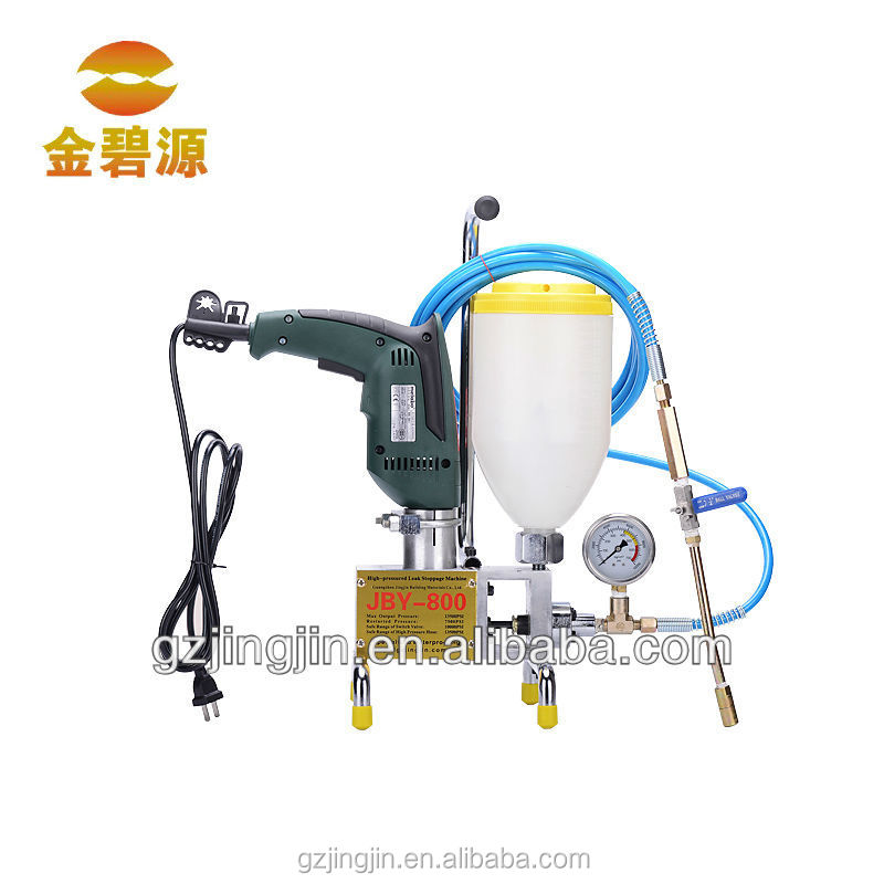 JBY800 Waterproof High Pressure Polyurethane Injection Pump for Leak Stoppage