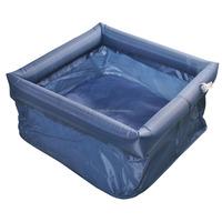 Waterproof portable camping basin