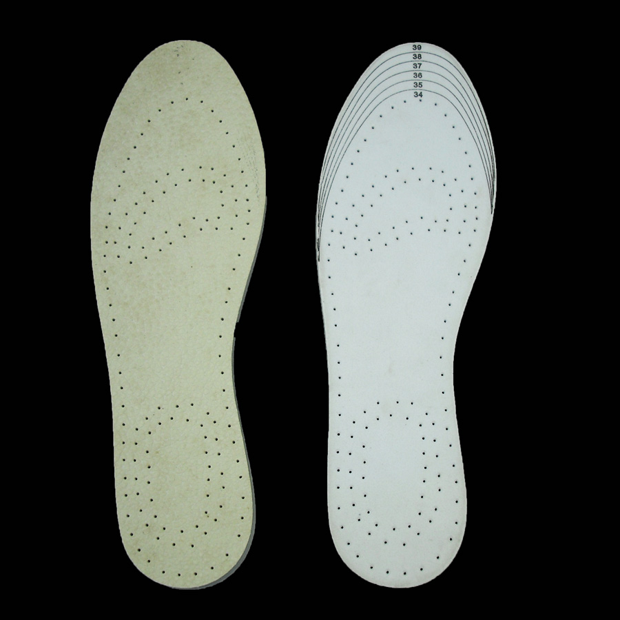 Air holes cushion pad raw leather without stimulation for human body softness eva removable insole