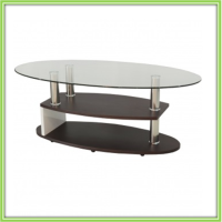 New Design Cheap Glass Coffee Table With Wheels