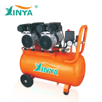 220v 50l portable italy low noise oil free air compressor