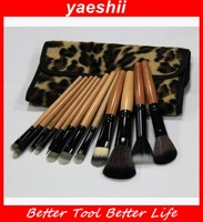 YAESHII 12PCS Make Up Foundation Eyebrow Eyeliner Blush Cosmetic Concealer Brushes