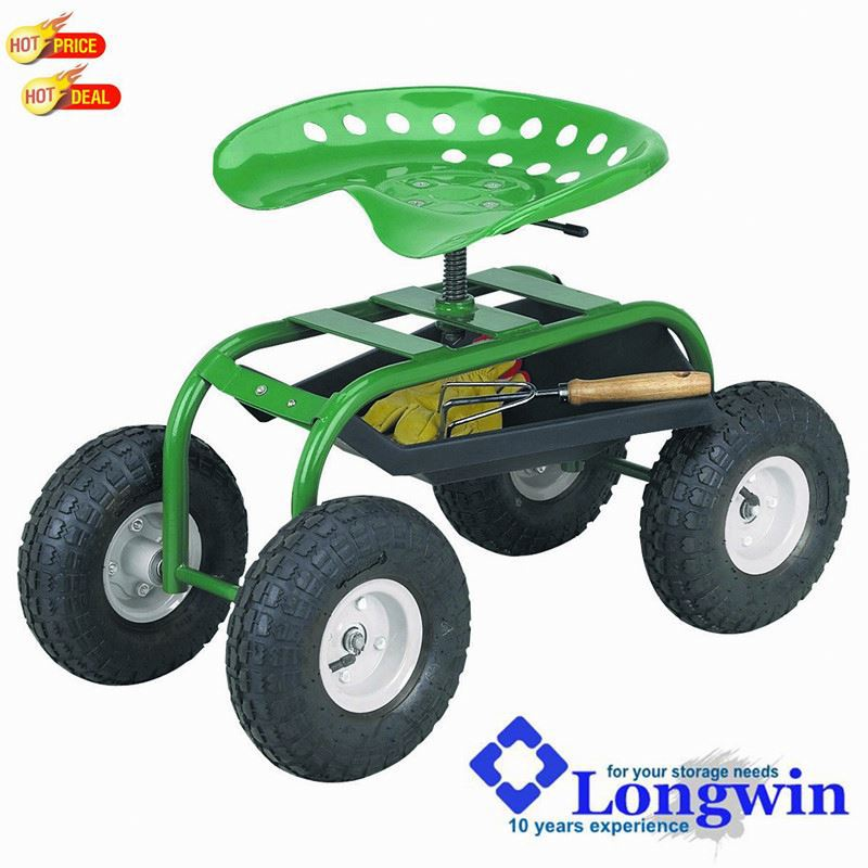 Garden Caddy On Wheels : Heavy duty garden caddy tractor seat on wheels buy