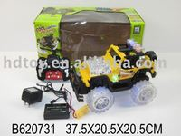 RC DANCING JEEP toy W/LIGHT&CHARGER