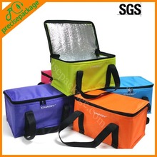 promotion insulated pp non woven cooler lunch bag with custom printing logo