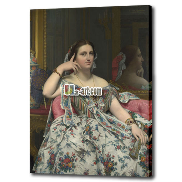 Beautiful classical painting of woman