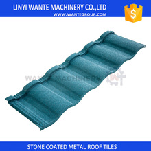 China manufacturer Stone Coated Roman Tile Metal Roofs With ISO9001 Certificate