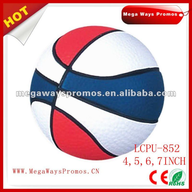 Volleyball Shape Squeeze Ball