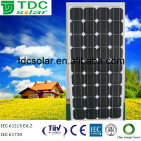 High efficiency 120W mono bosch solar panel