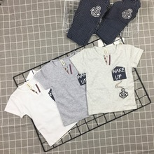 B6105 2017 New design kids sets new casual daily boys wear