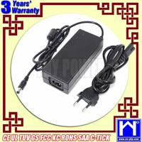 3 years warranty desktop laptop adaptor 24v 2.5a charger, 60w switching power supply, 220v 24v transformador converter