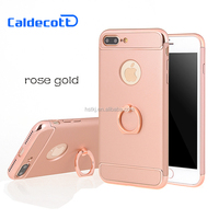 Luxury 360 Rotating Ring Stand Phone Case for iphone 7 plus,phone case wholesale