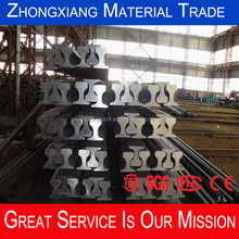 good quality BS 80A Heavy steel rail for coal mine