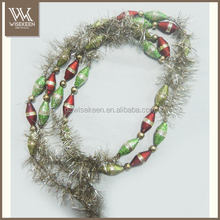 Wholesale christmas tinsel garland for christmas decoration
