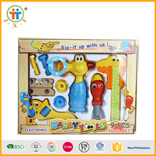Shantou wholesale electric power cartoon toy kids tool set for sale