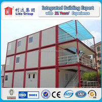 Weifang Henglida China low cost fast and quick erect construction container house camp