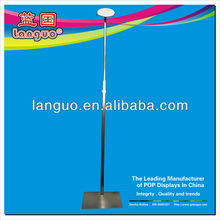 2012 new style bag poster stand/metal advertising display