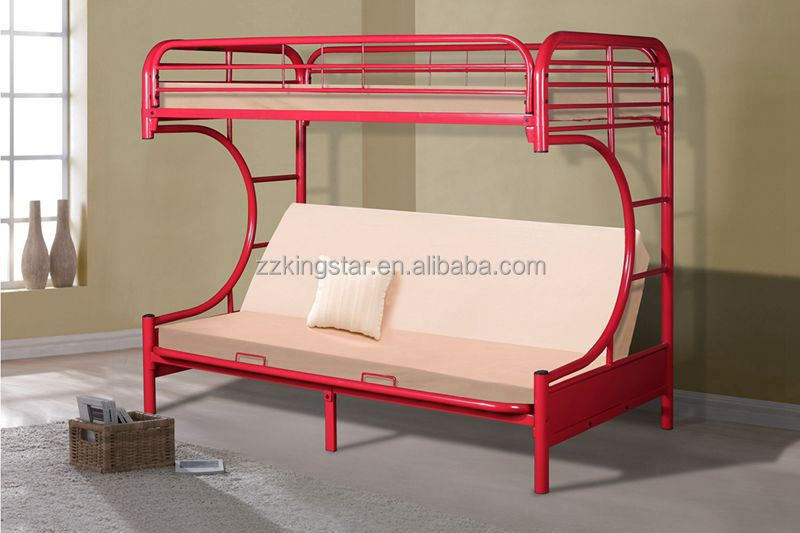 Cheap metal frame bed new design furniture used bunk beds