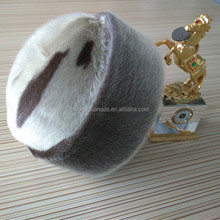 Real Canada High Quality Sealskin Fur hat cape of American style for man
