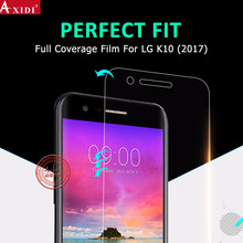 OEM ODM 100% Fit 3D Curved Edge Smartphone TPU Screen Film for LG K10 Screen Protector