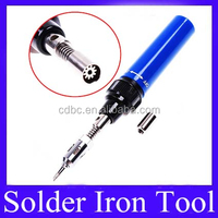 Gas Soldering Torch Pen Solder Iron Tool Blue HT-1937