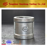 "Best Price for 270 1"" Galvanized Coupling pipe fittings"