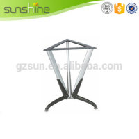 2015 New Hot Fashion Durable japanese glass metal dining table legs