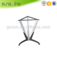 New Hot Fashion Durable japanese glass metal dining table legs