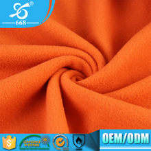 Low Stretch 150D 144F Dyeing Double Brushed Polar Fleece Lightweight 100 Polyester Blanket Fabric Price Per Yard
