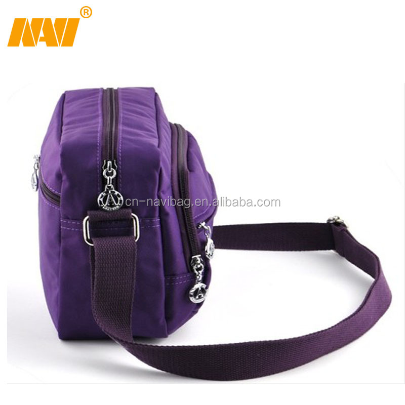 chinese factory produce nylon single shoulder bag