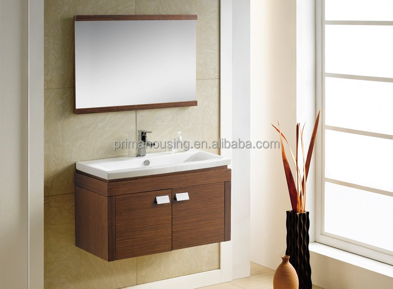 Modern Solid Wood White Used Bathroom Vanity Cabinet With Bathroom Mirror Buy Solid Wood