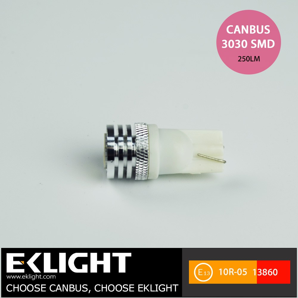 Custom Wholesale Auto Led Bulb 12V White Light Led Car Light T10