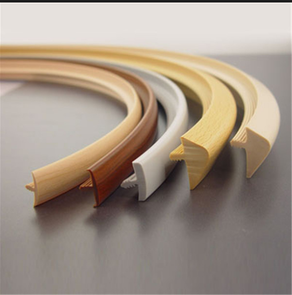 2016 new products 22mm width T-molding edging trim for furniture