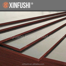18mm anti slip recycled film faced plywood manufacture for construction