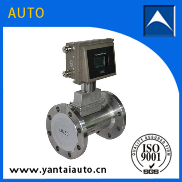 gas turbine flow meter is widely used for various kinds of gas measurement
