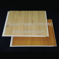 Laminated PVC wall panel for interior decoration and CE certified