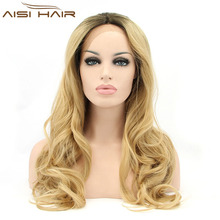 belle brown blonde mix lace front wigs fiber hair wigs synthetic braided lace front wig