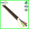 flexible pvc cable rvv with pvc insulated pvc jacket best quality wire cable